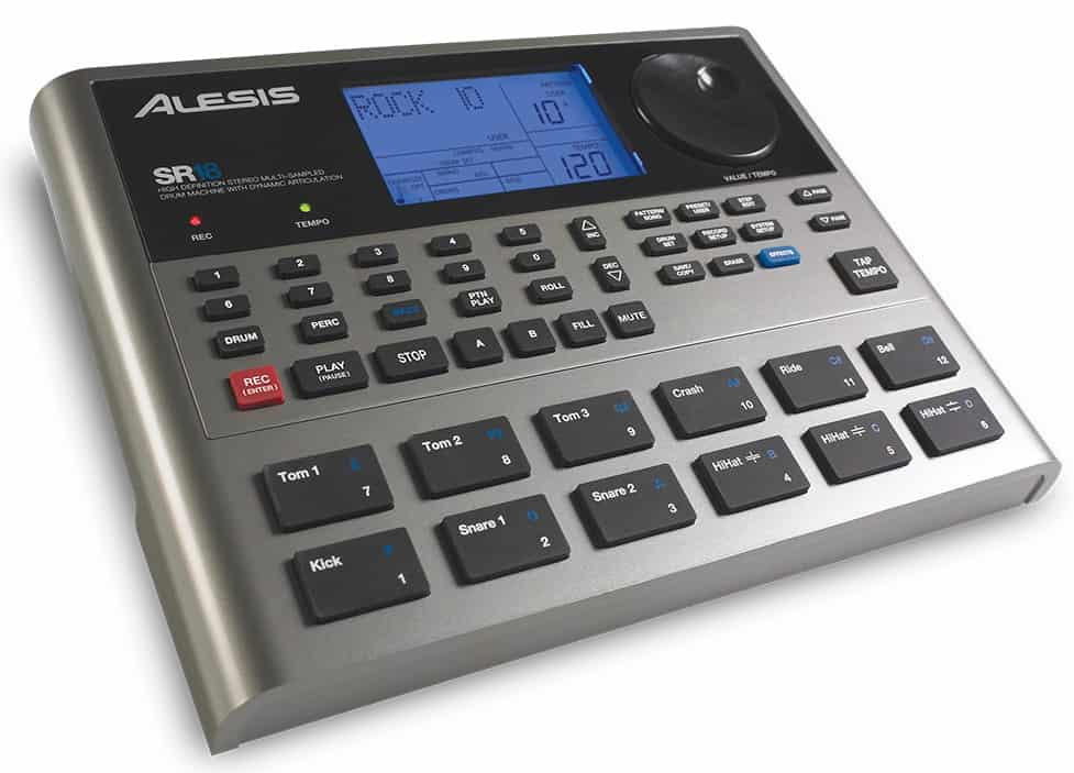 Alesis SR18 High-Definition Multi-Sampled Electronic Drum Machine