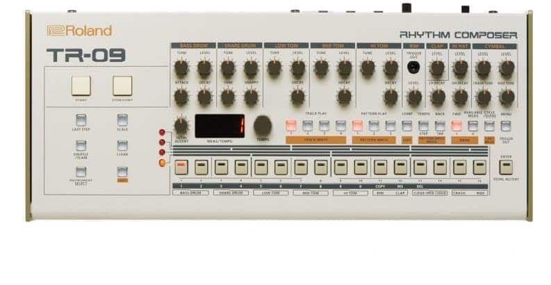 Roland TR-09 Boutique Rhythm Performer Drum Machine