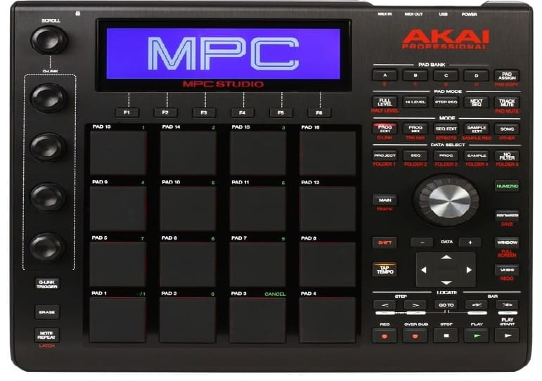 Akai Professional MPC Studio Black Music Production Controller Drum Machine