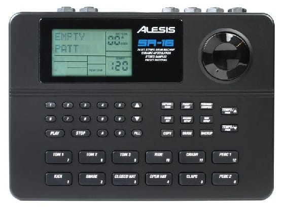 Alesis SR16 Classic 24-bit Stereo Electronic Drum Machine