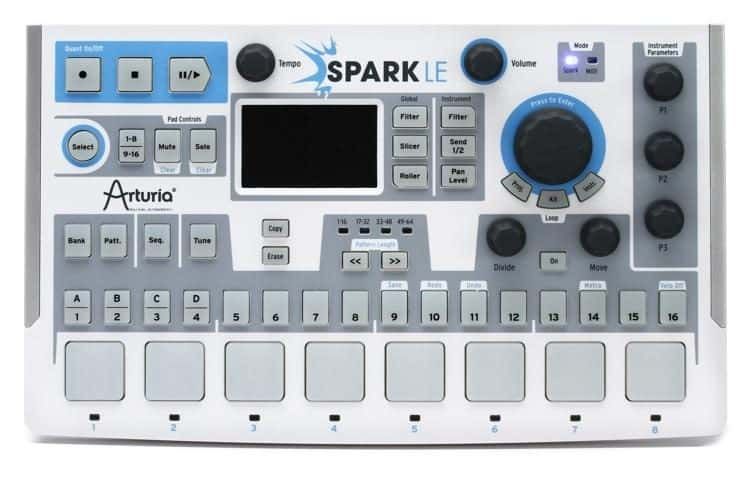 Arturia SparkLE 420101 Hardware Controller and Software Drum Machine