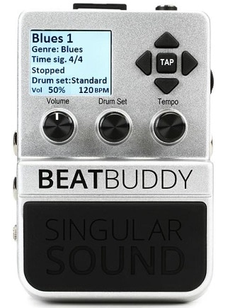Singular Sound BeatBuddy the First Guitar Pedal Drum Machine