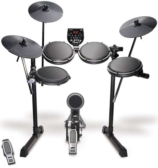 Alesis DM6 USB Kit - Eight-Piece Compact Beginner Electronic Drum Set