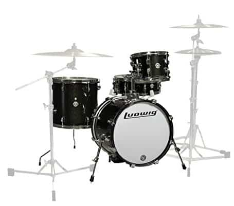 Ludwig LC179X016 Breakbeats 4 Piece Shell Pack Drum Set