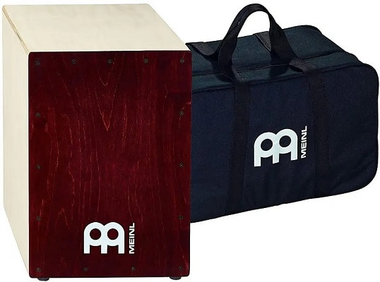 Meinl Percussion Cajon Box Drum with Internal Snares and FREE Bag