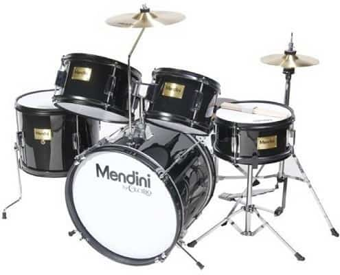 Mendini by Cecilio 16 inch 5-Piece Complete Kids Junior Drum Set