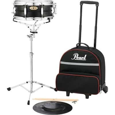 Pearl SK910C Educational Snare Kit with Rolling Case