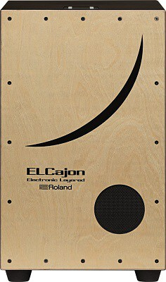 Roland ELCajon Electronic Layered Cajon Natural EC-10